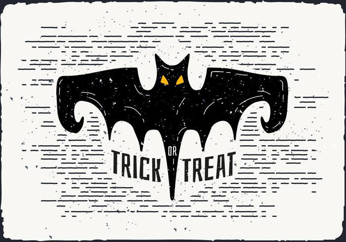 Illustrazione di vettore del pipistrello di Halloween
