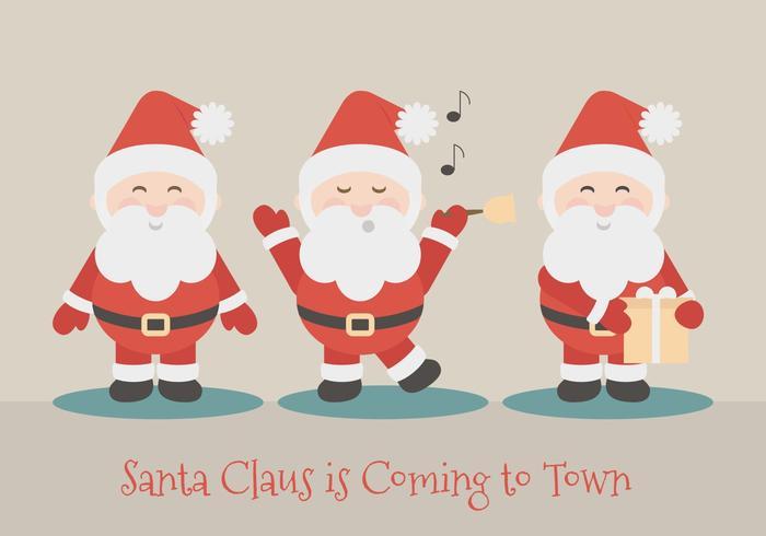 Illustrazione di Babbo Natale vettoriale