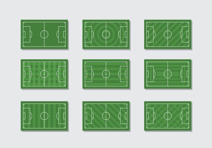 Calcio gratuito Vector Ground