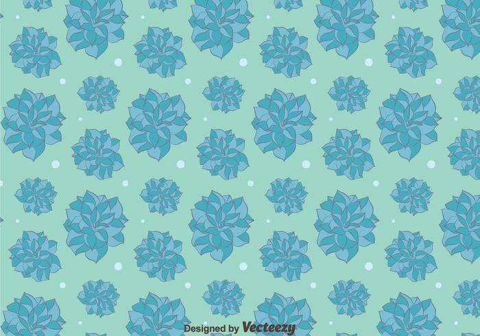 Fondo blu del modello di fiori della camelia vettore