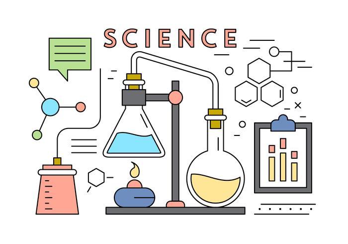 Elementi di vettore di scienza