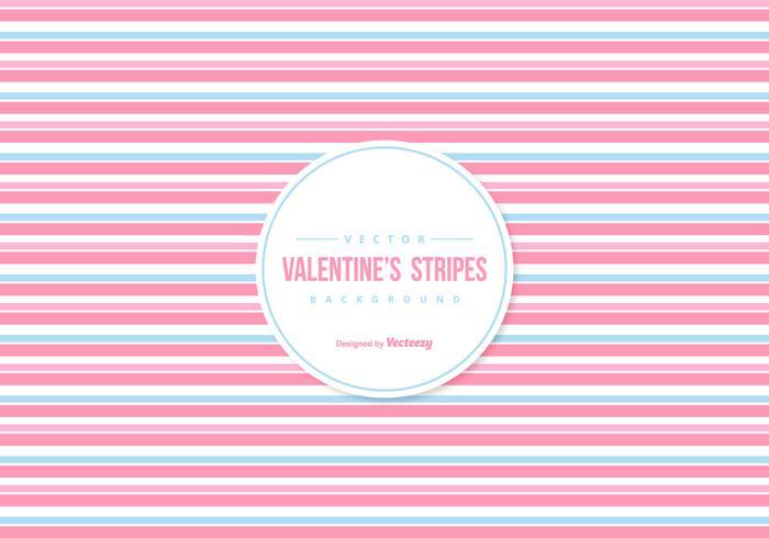 Sfondo di strisce colorate di San Valentino vettore