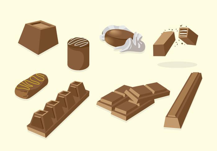 Vettore di cioccolato