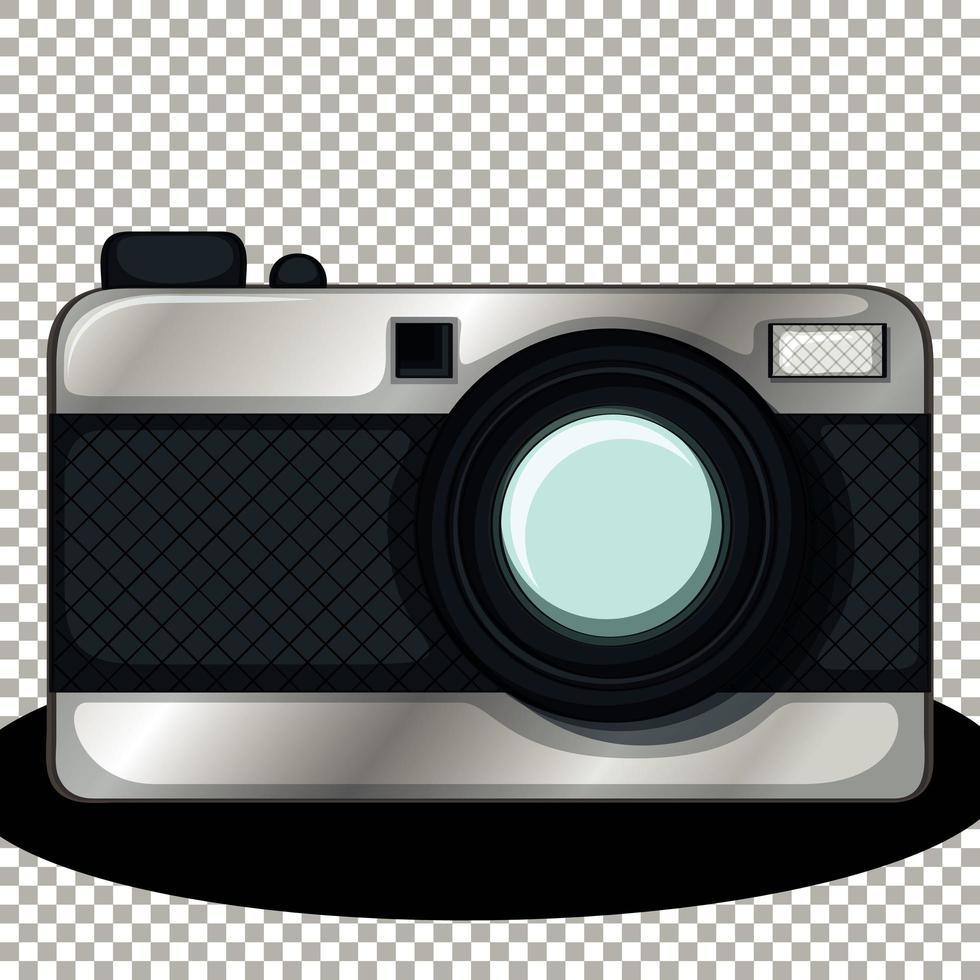fotocamera isolata isolata vettore