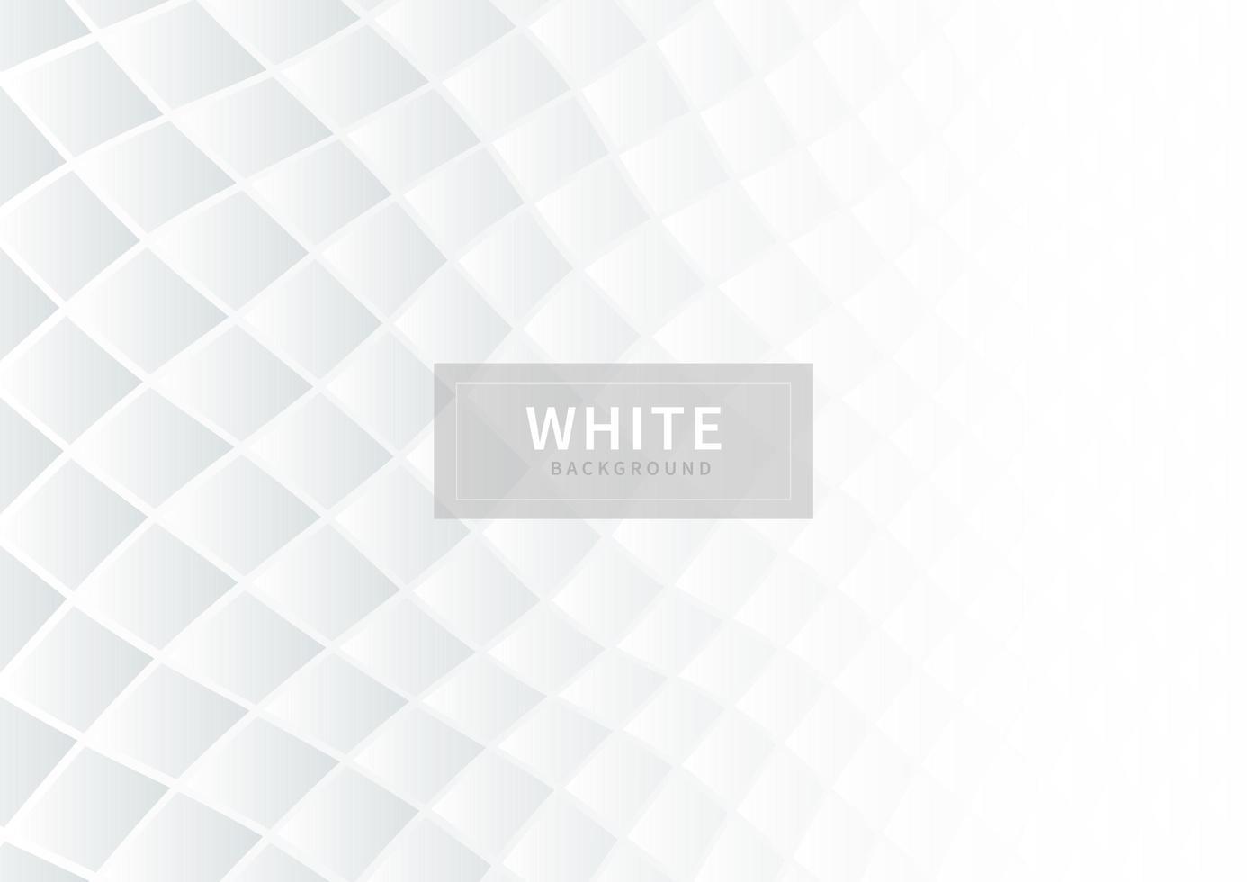 quadrati bianchi astratti di gradiente vettore