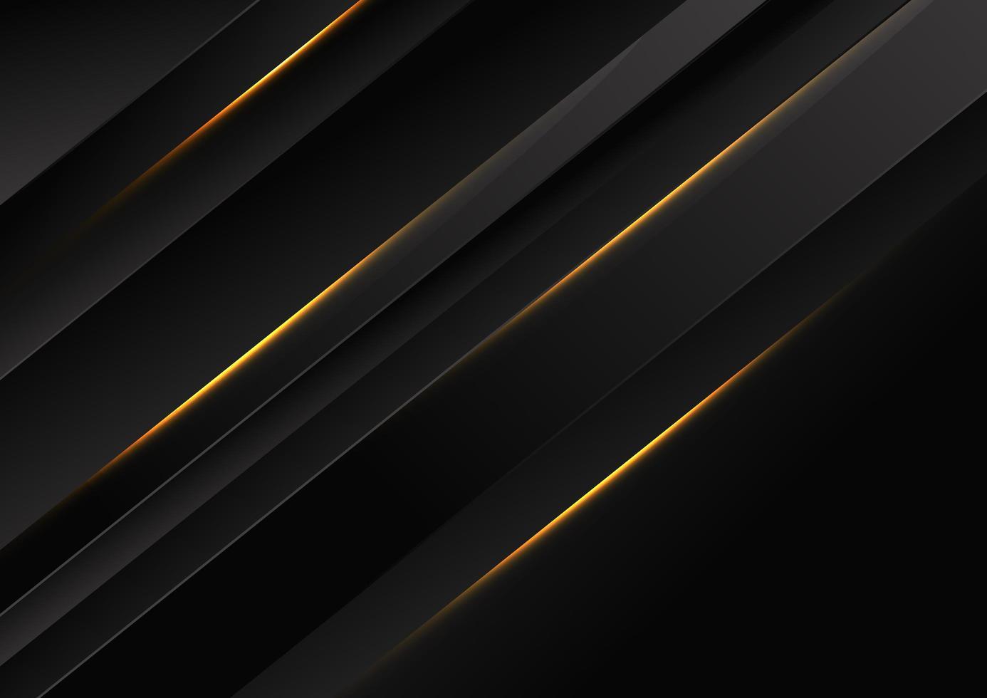 sfondo nero diagonale astratto vettore