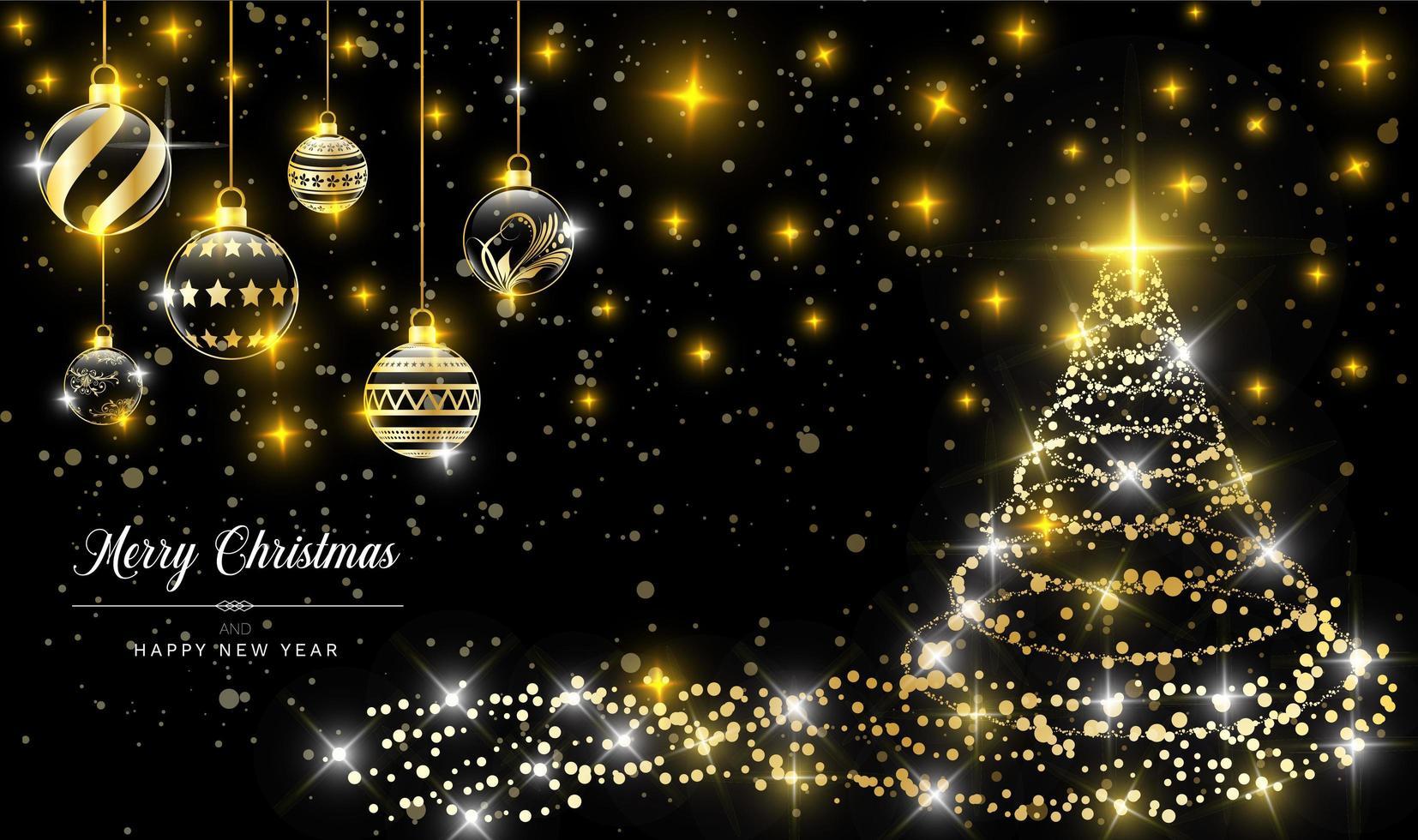 modello di sfondo di Natale vettore