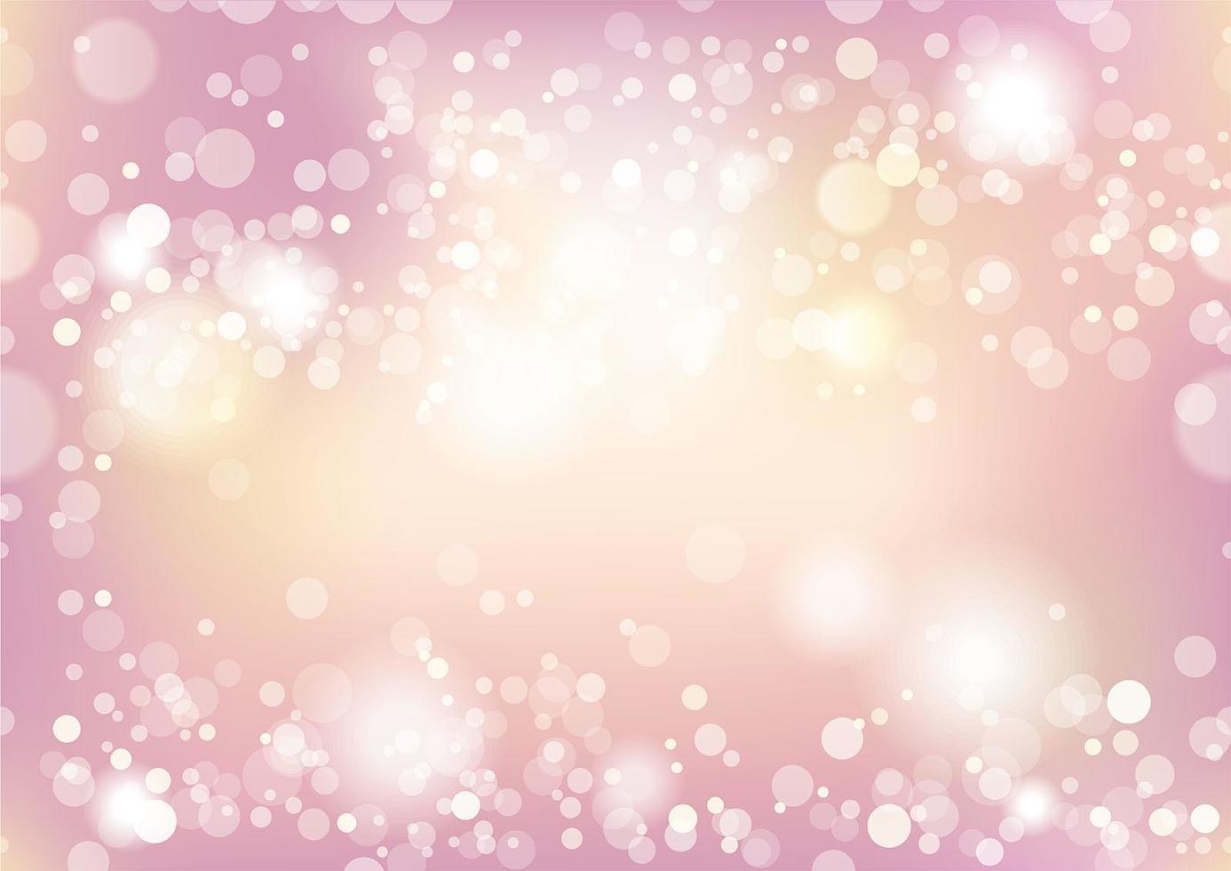 sfondo rosa bokeh astratto vettore