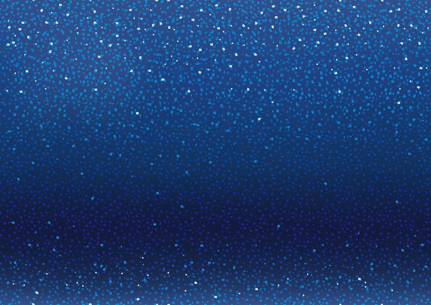 sfondo blu con glitter e scintillii vettore