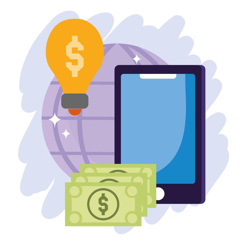pagamento online e composizione dell'e-commerce vettore