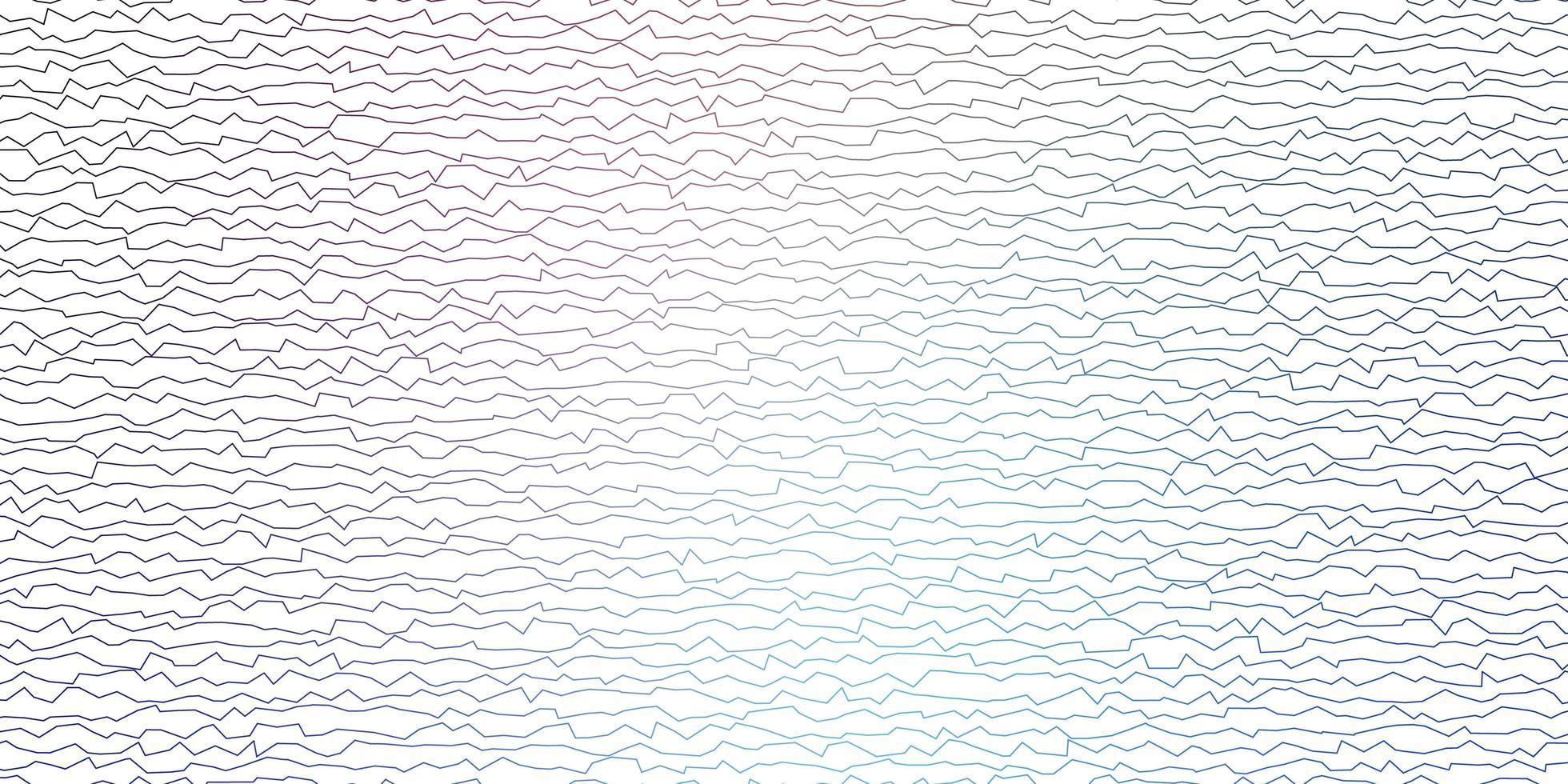sfondo di linee rosa e blu vettore