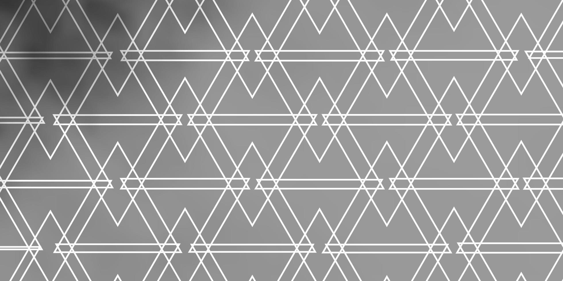 trama grigio chiaro con linee, triangoli. vettore