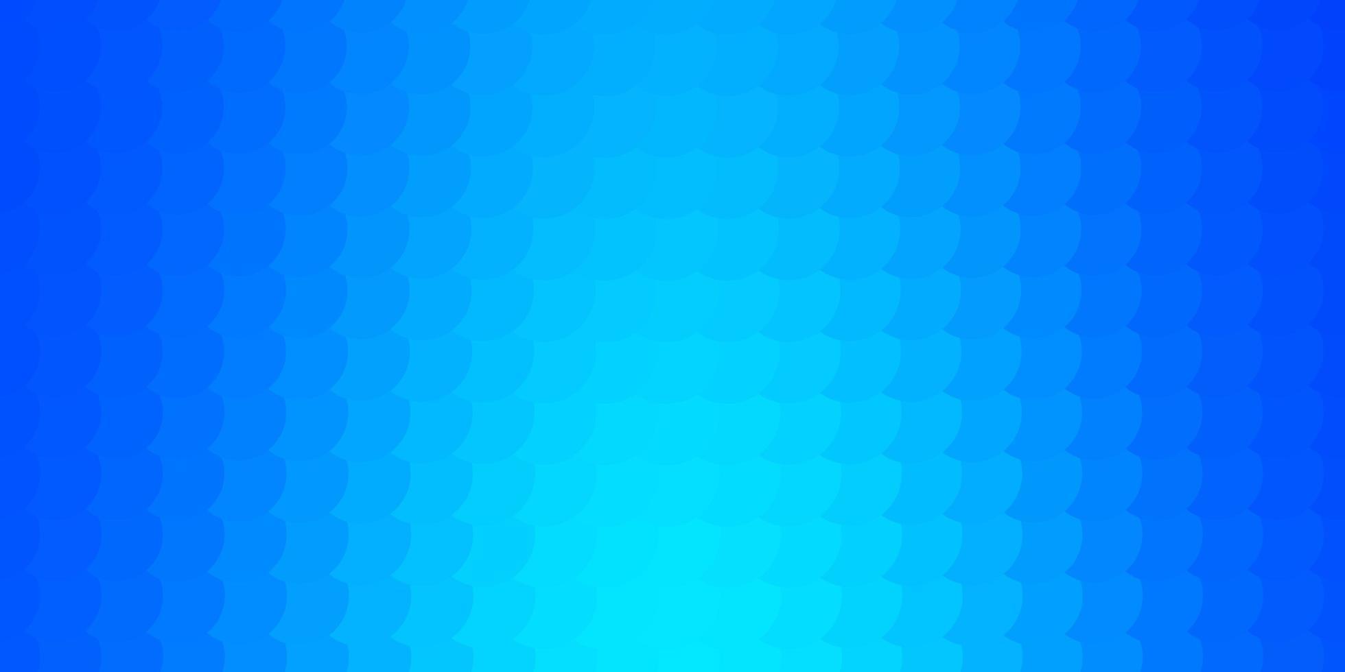 sfondo blu con bolle. vettore