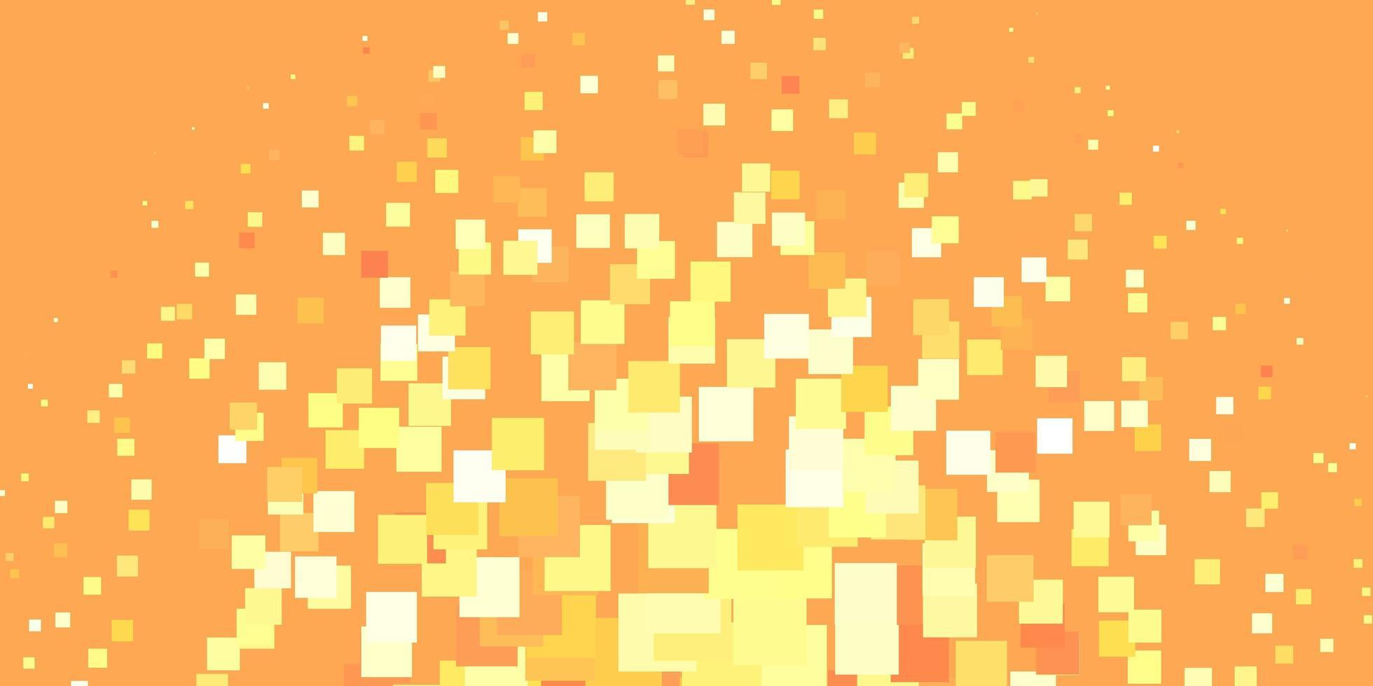 sfondo arancione e giallo con rettangoli. vettore