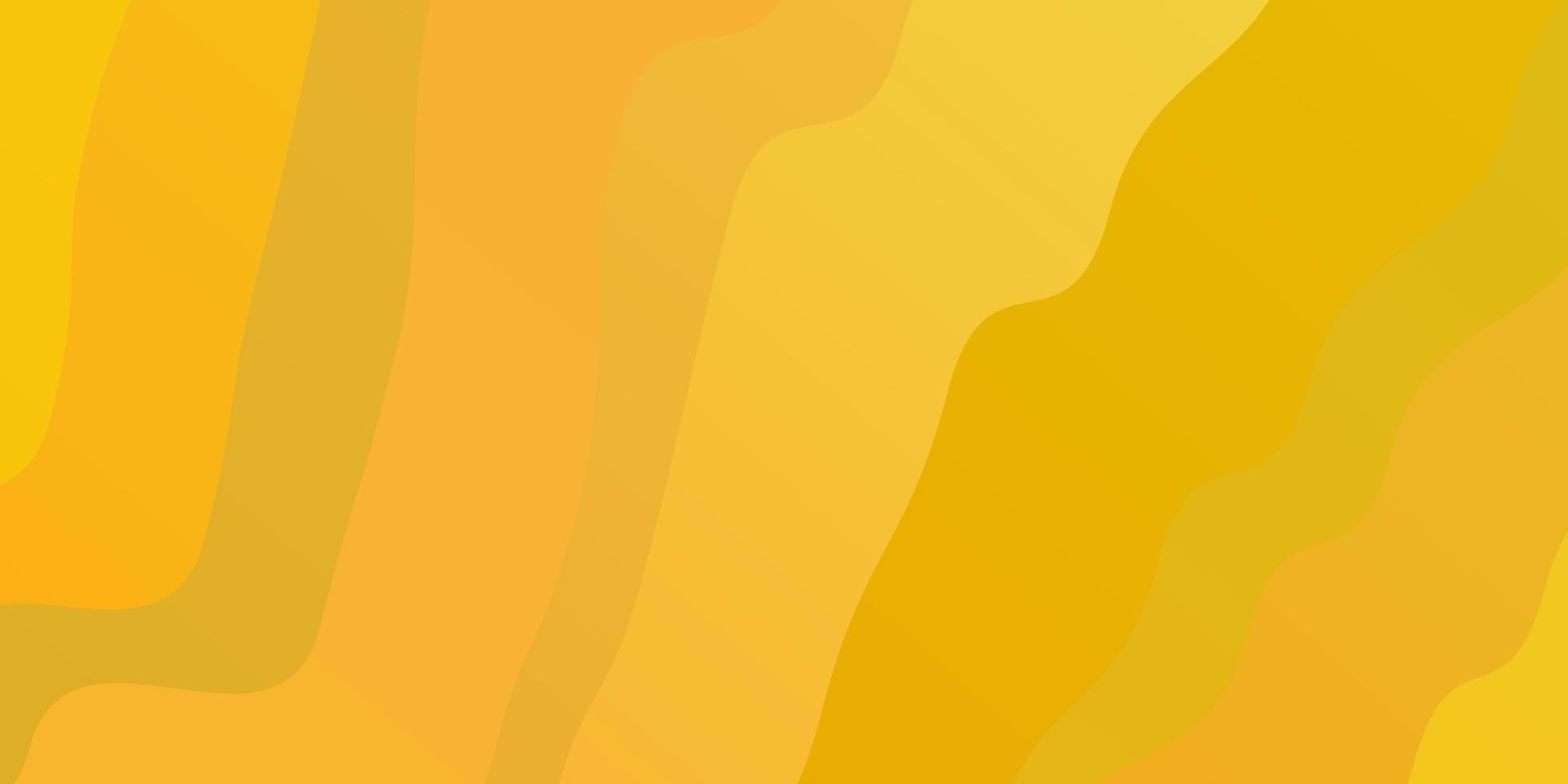 trama giallo scuro con curve sfumate. vettore