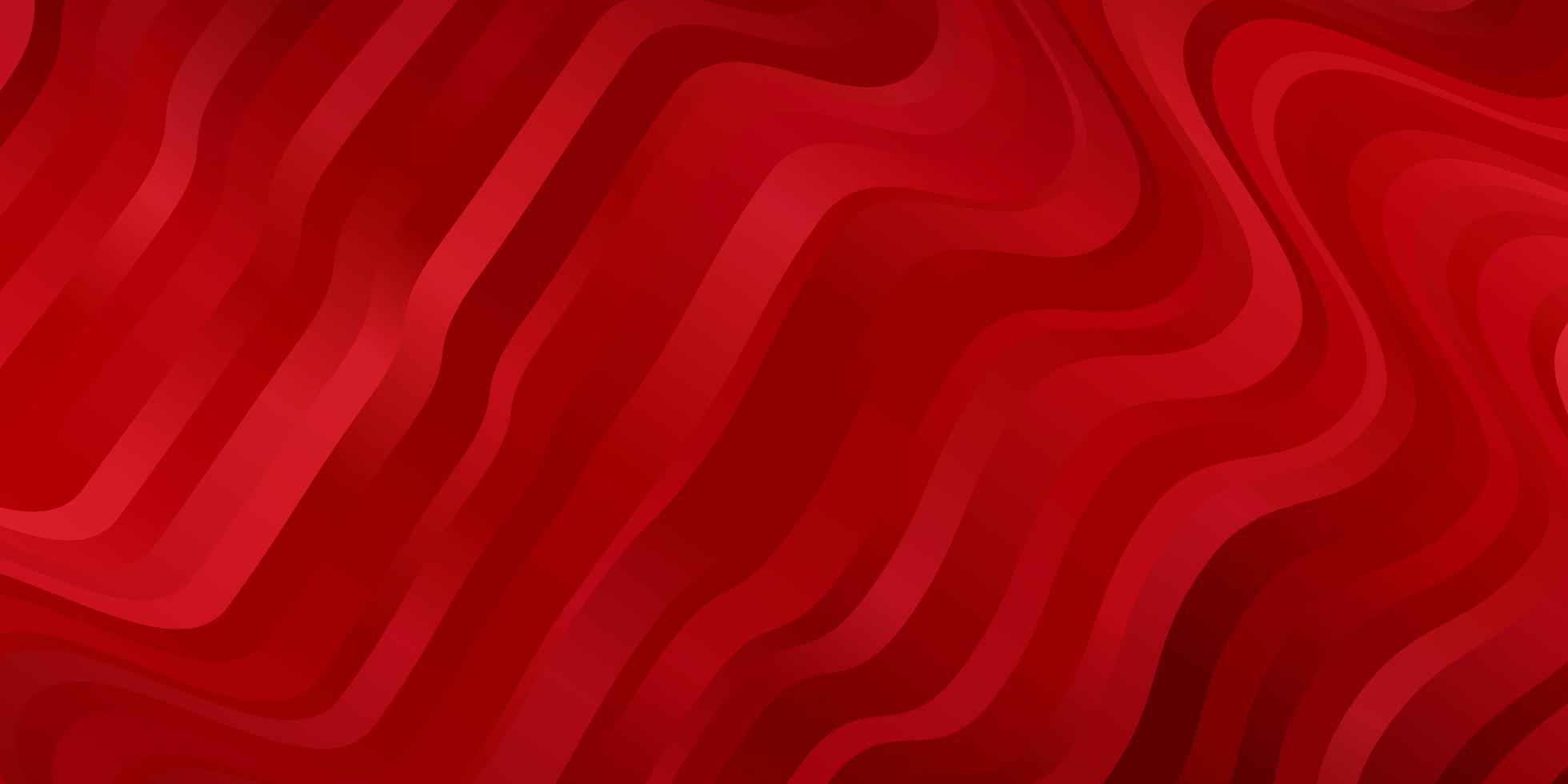 sfondo rosso con linee. vettore