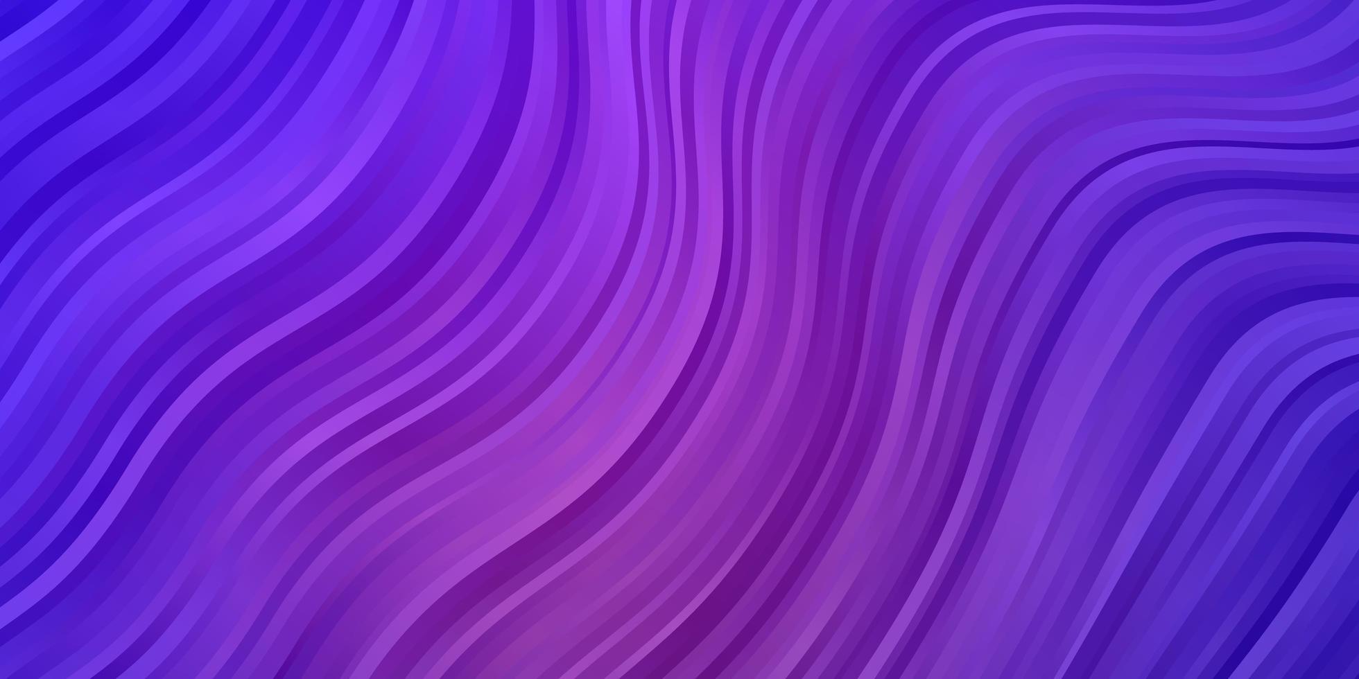 texture viola chiaro con curve. vettore