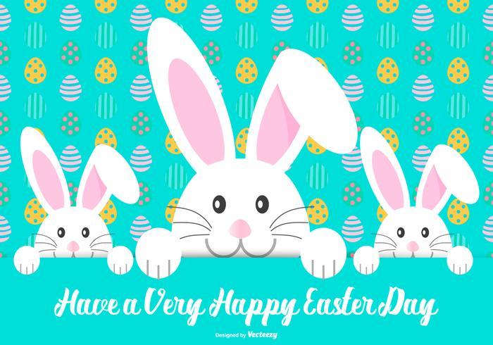 Carino felice illustrazione di Pasqua vettore