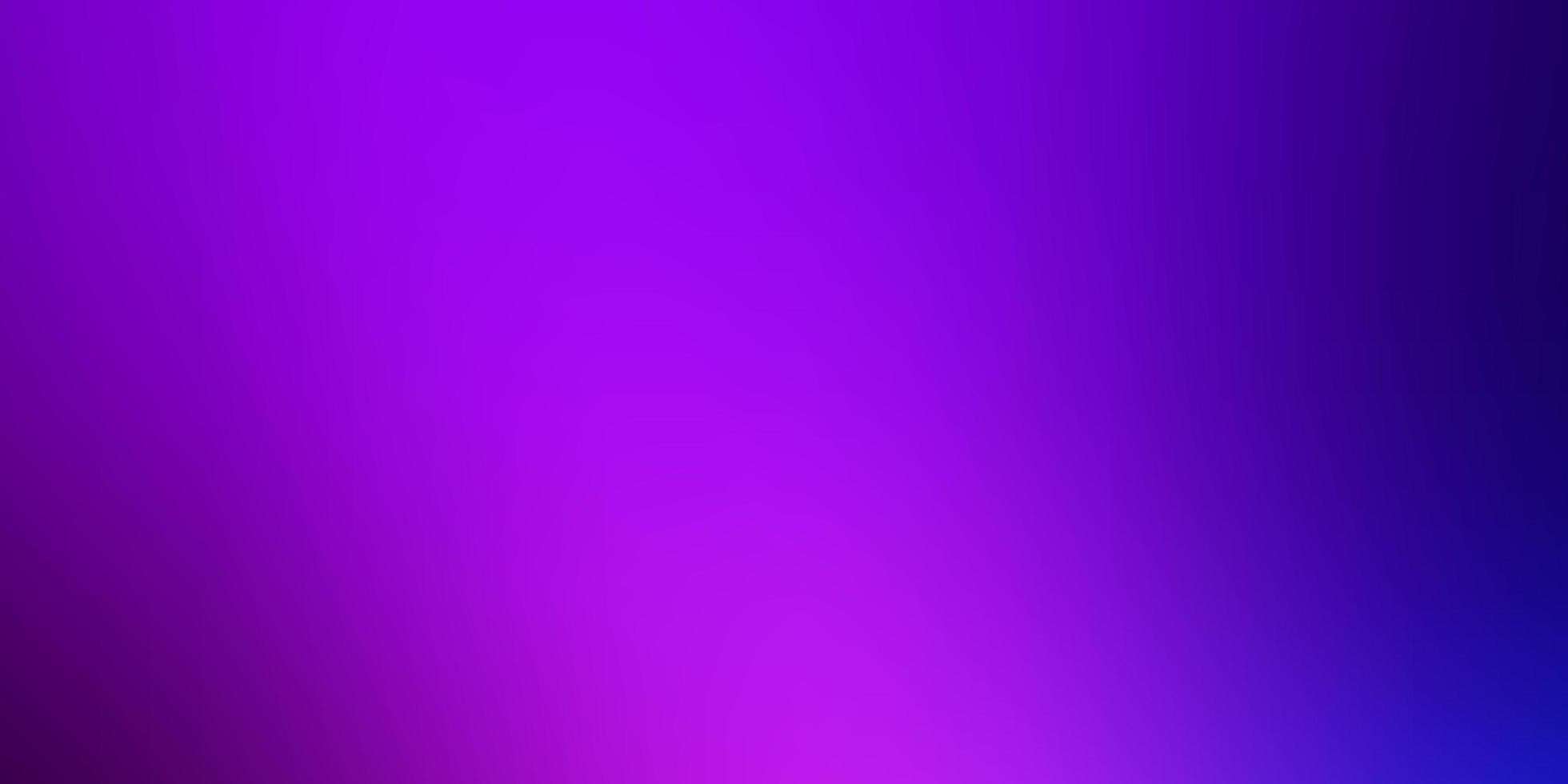 modello sfocato intelligente rosa e blu. vettore