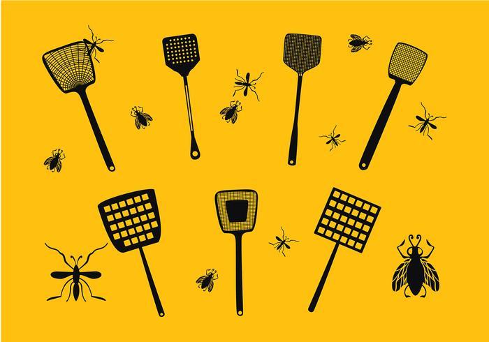 Vettore dell'icona dell'oscillazione della mosca libera
