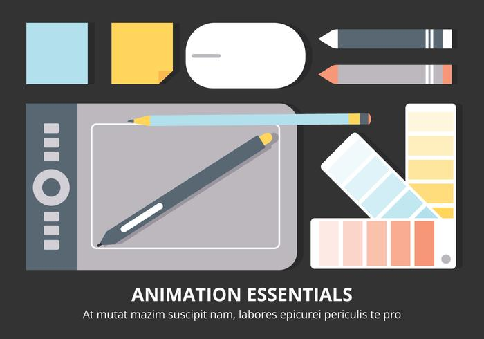 Elementi vettoriali desktop di design