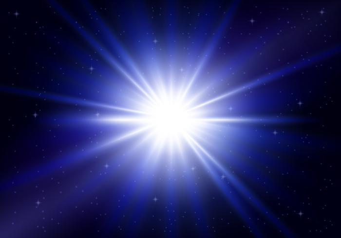 Esplosione di Supernova vettore