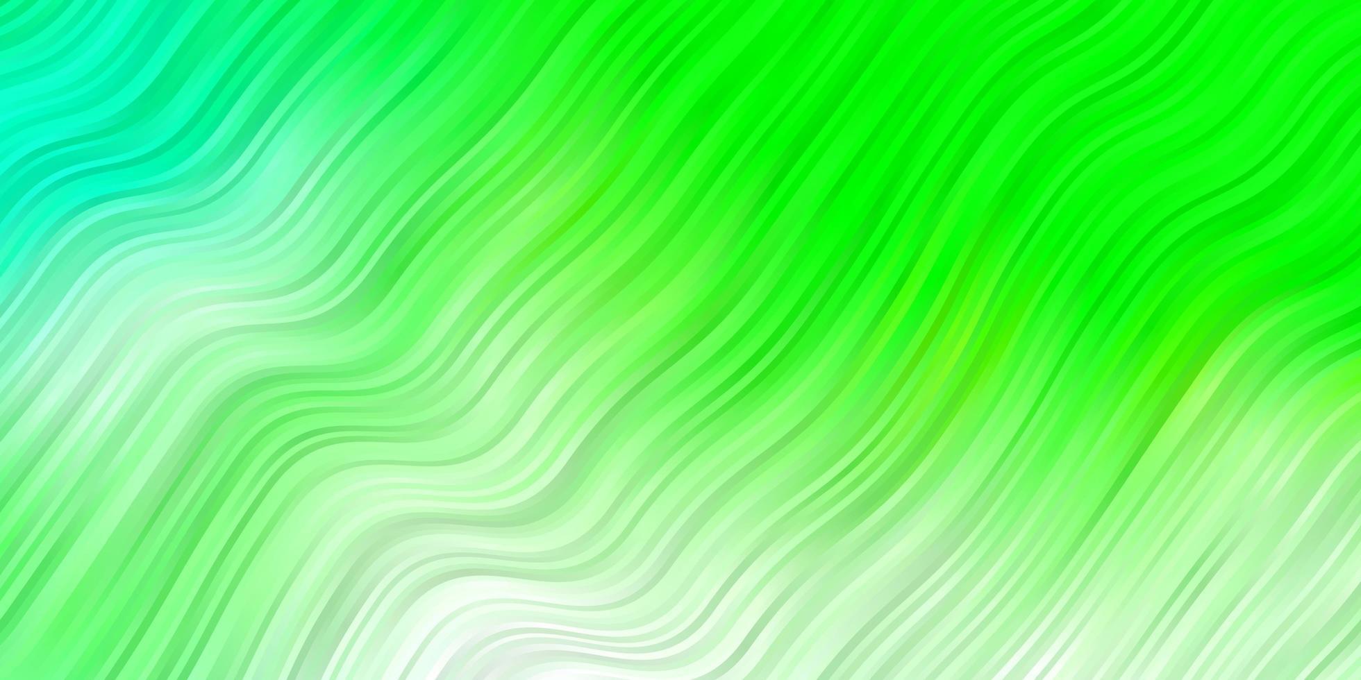 sfondo verde chiaro con linee ironiche. vettore