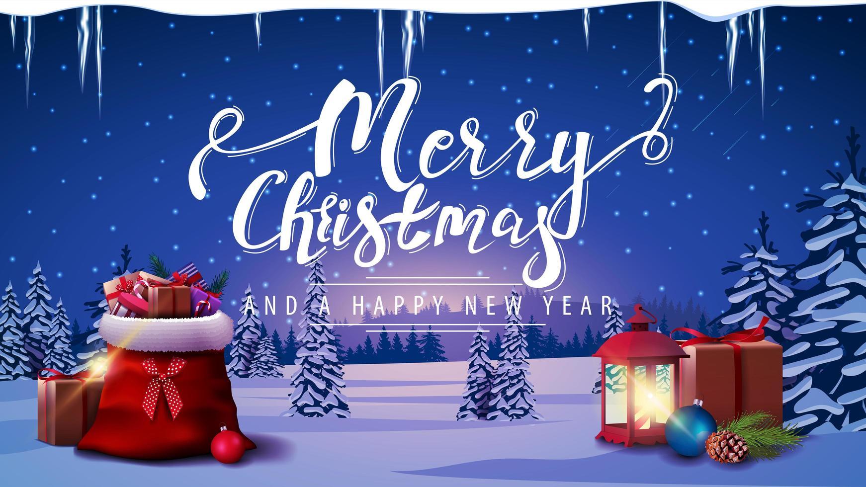 Cartoline Buon Natale E Felice Anno Nuovo.Buon Natale E Felice Anno Nuovo Cartolina 1486488 Scarica Immagini Vettoriali Gratis Grafica Vettoriale E Disegno Modelli