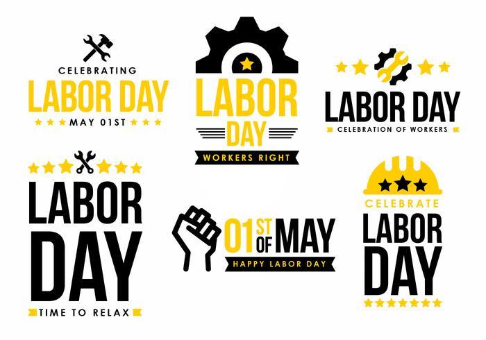 Labor Day Design elemento del vettore
