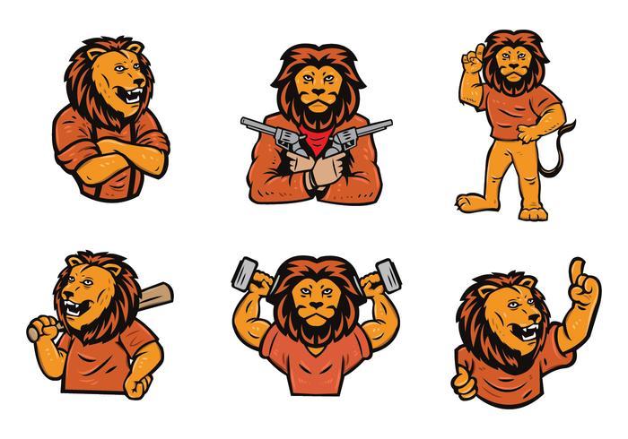 Leone Logo Vector Set