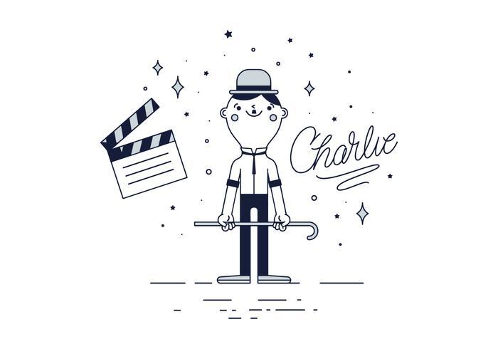 Libero Charlie Chaplin Vector