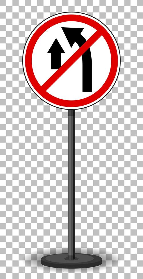 segnale stradale rosso vettore