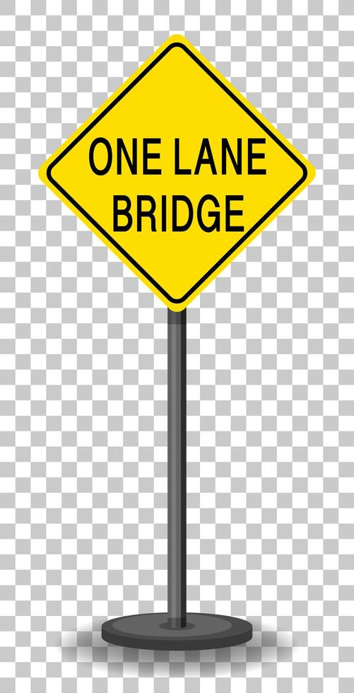segnale di avvertimento traffico giallo vettore