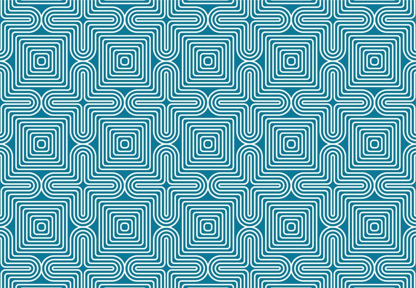 senza cuciture di illusione ottica geometrica bianca e blu vettore