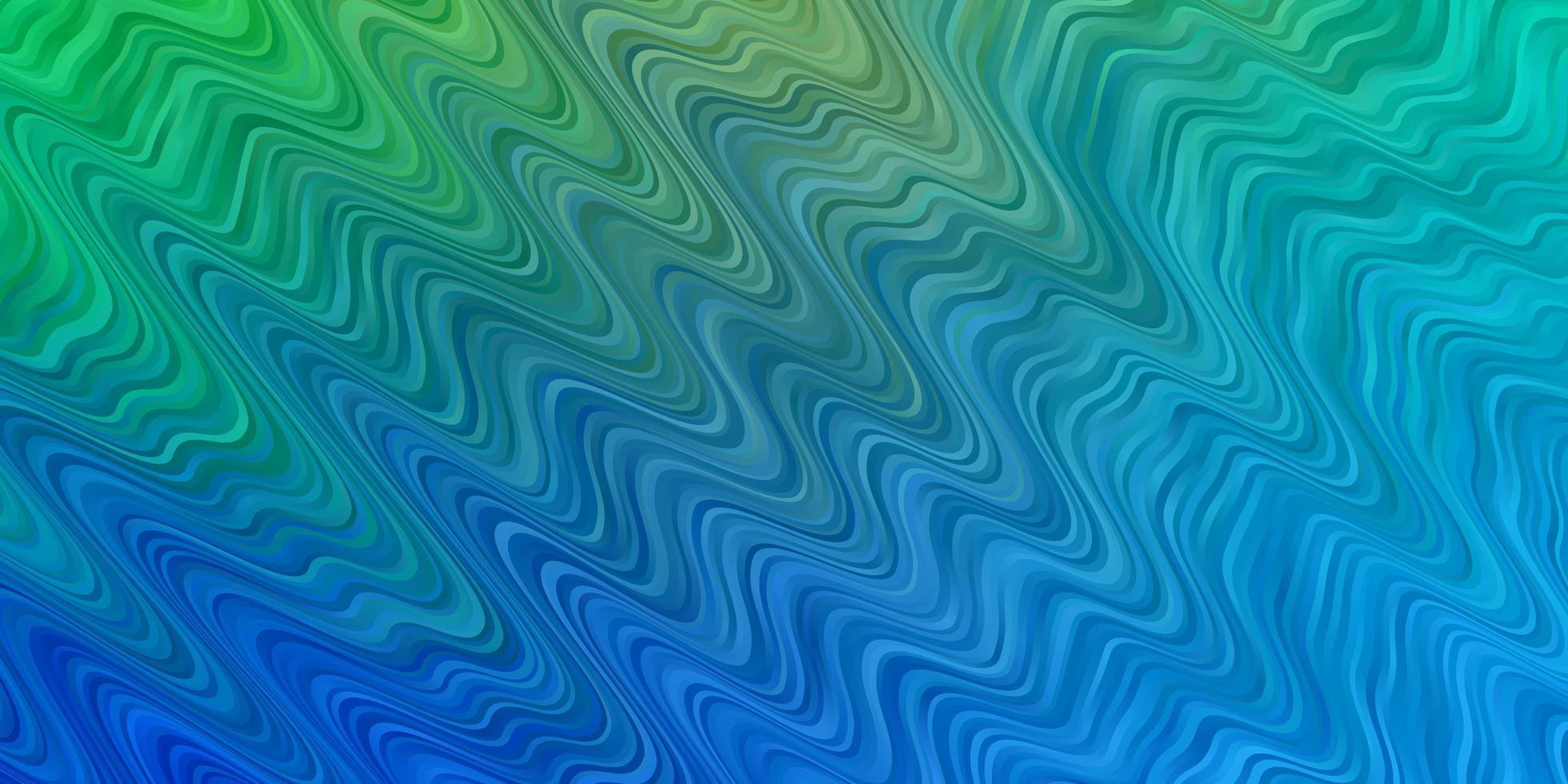 modello azzurro, verde con linee. vettore