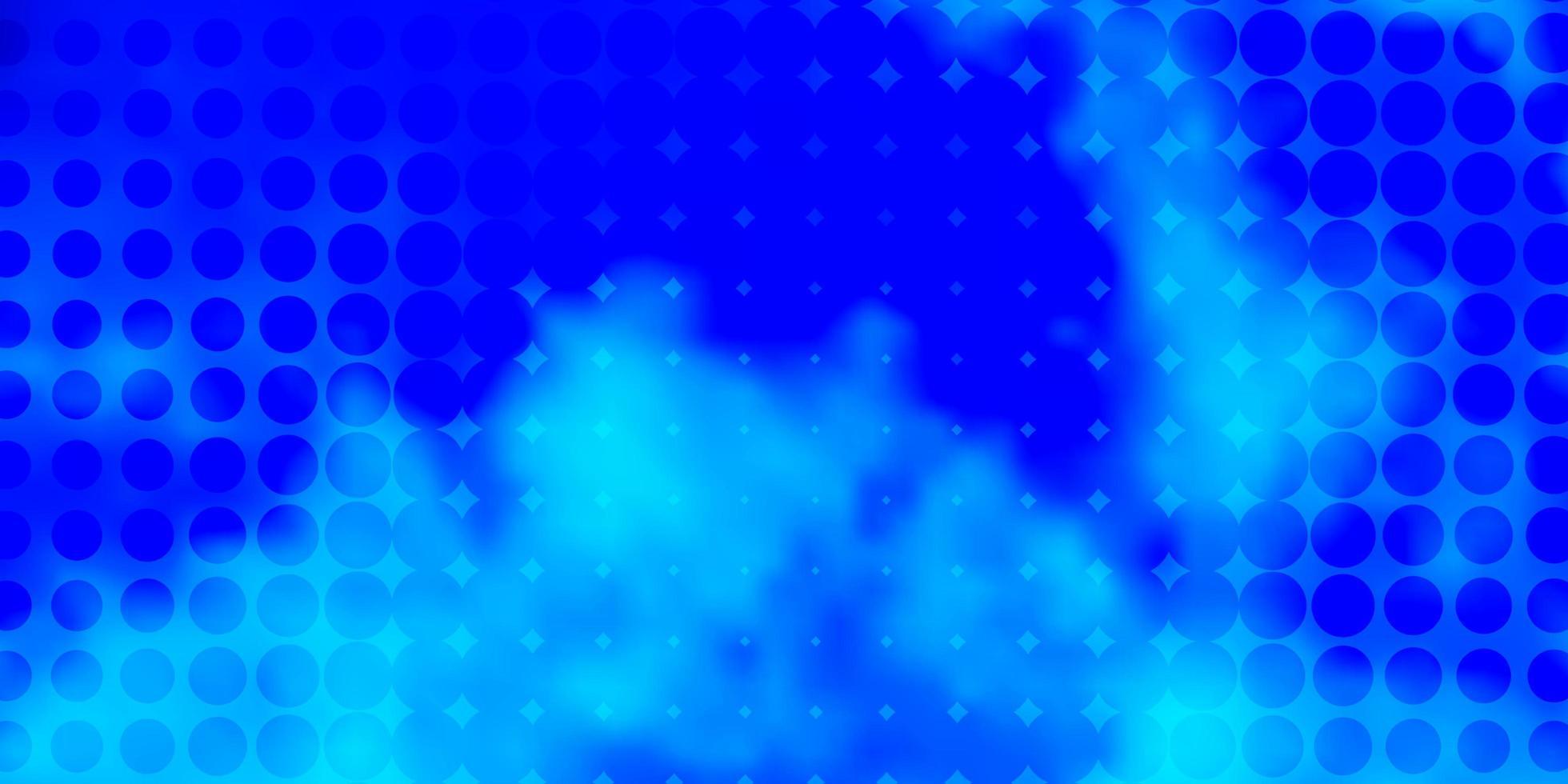 sfondo azzurro con bolle. vettore