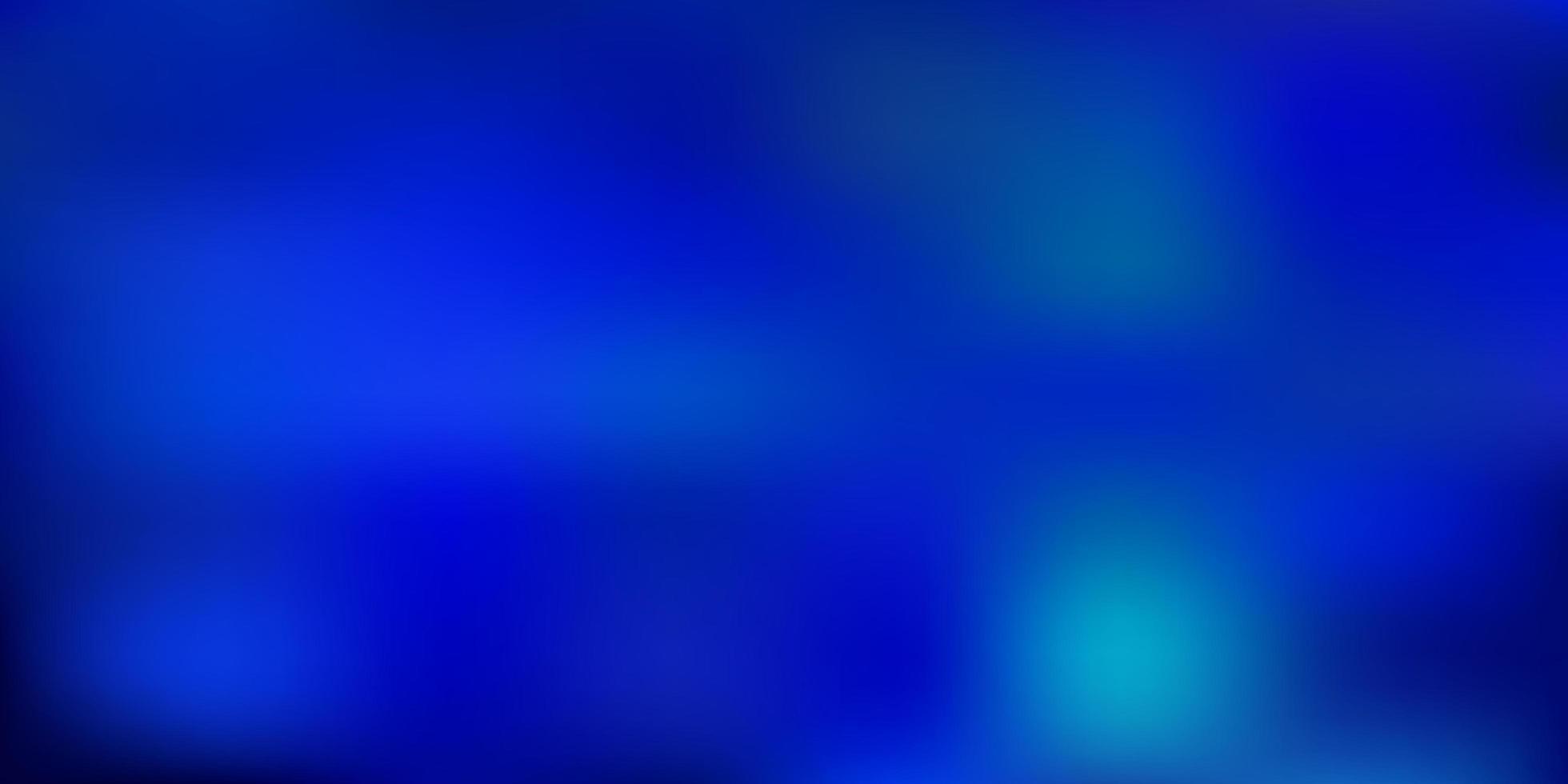 layout sfocatura astratta blu chiaro. vettore