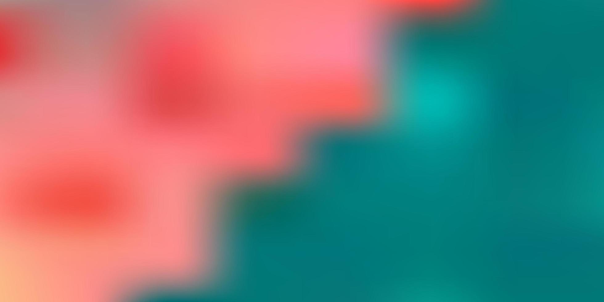 sfondo sfocato verde chiaro, rosso. vettore