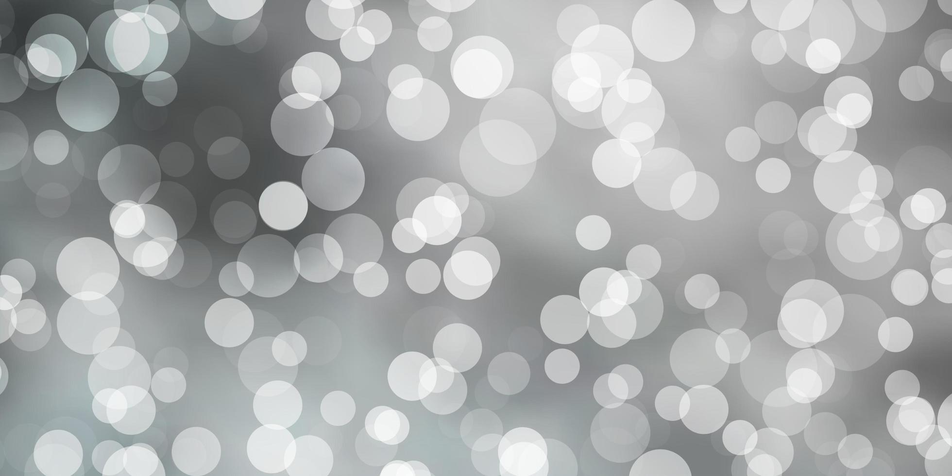 sfondo grigio chiaro con bolle. vettore