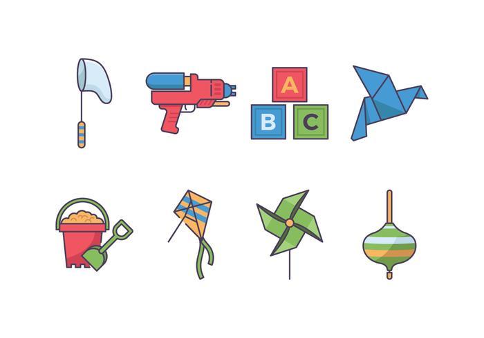 Icona di gioco per bambini vettore