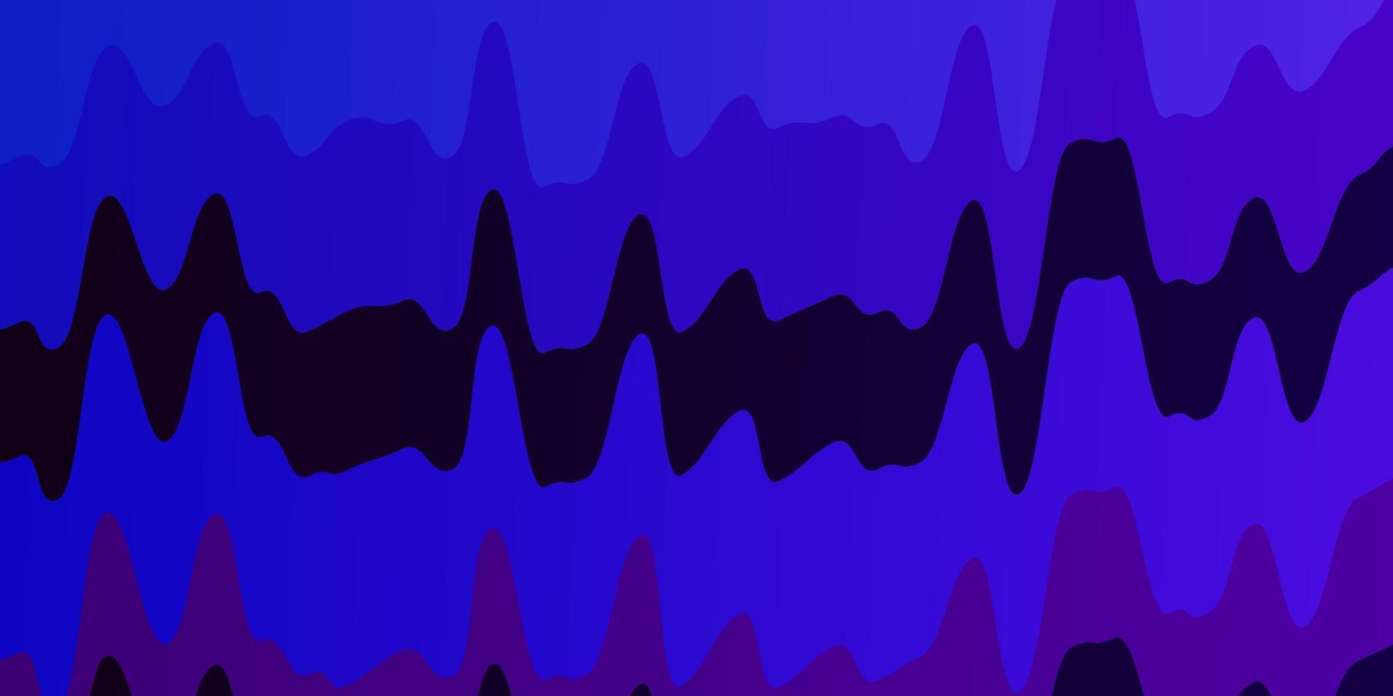 rosa scuro, fondale blu con arco circolare. vettore