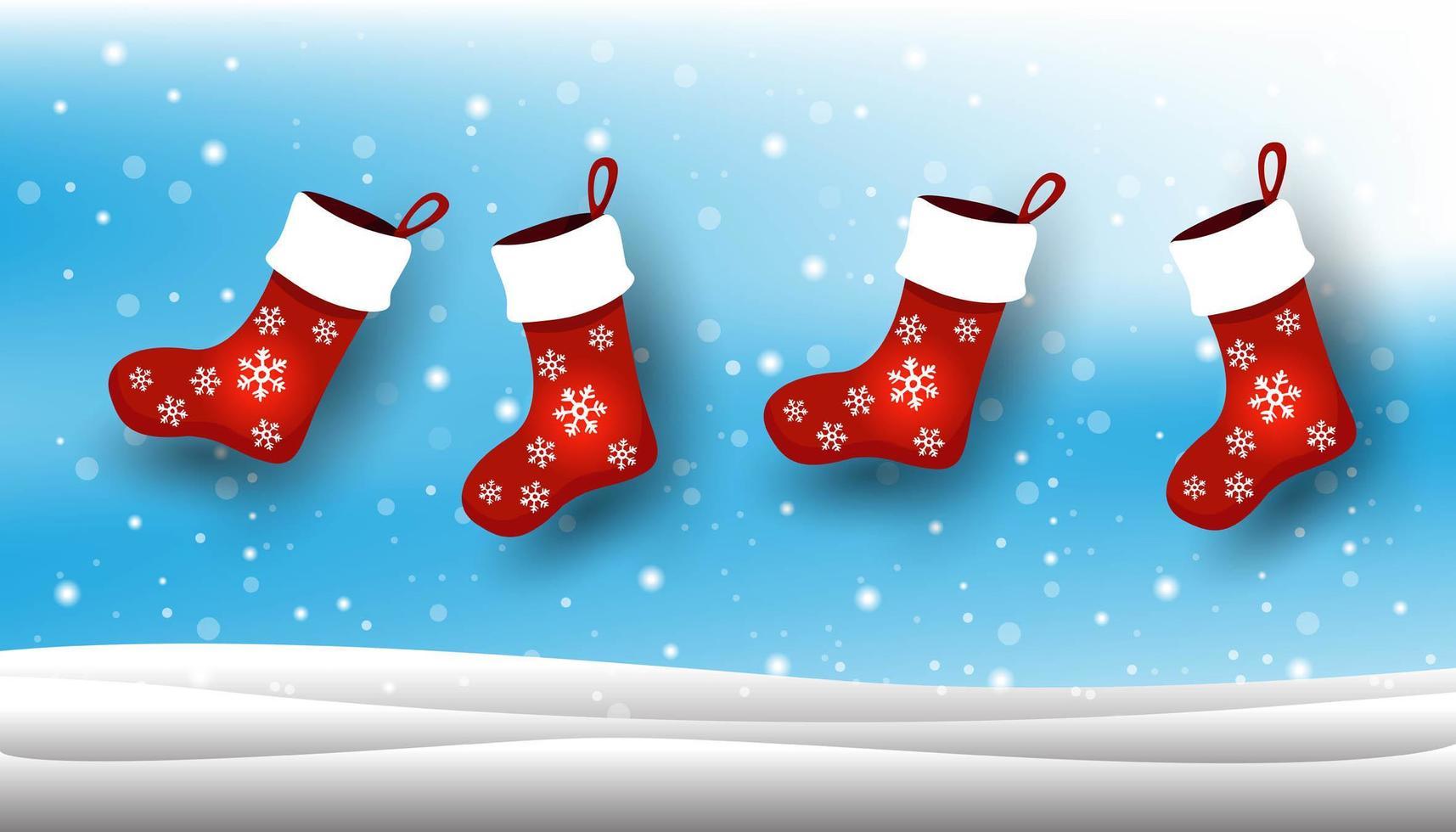Foto Con La Neve Di Natale.Calza Di Natale Sfondo Con La Neve Di Natale 1631284 Scarica Immagini Vettoriali Gratis Grafica Vettoriale E Disegno Modelli