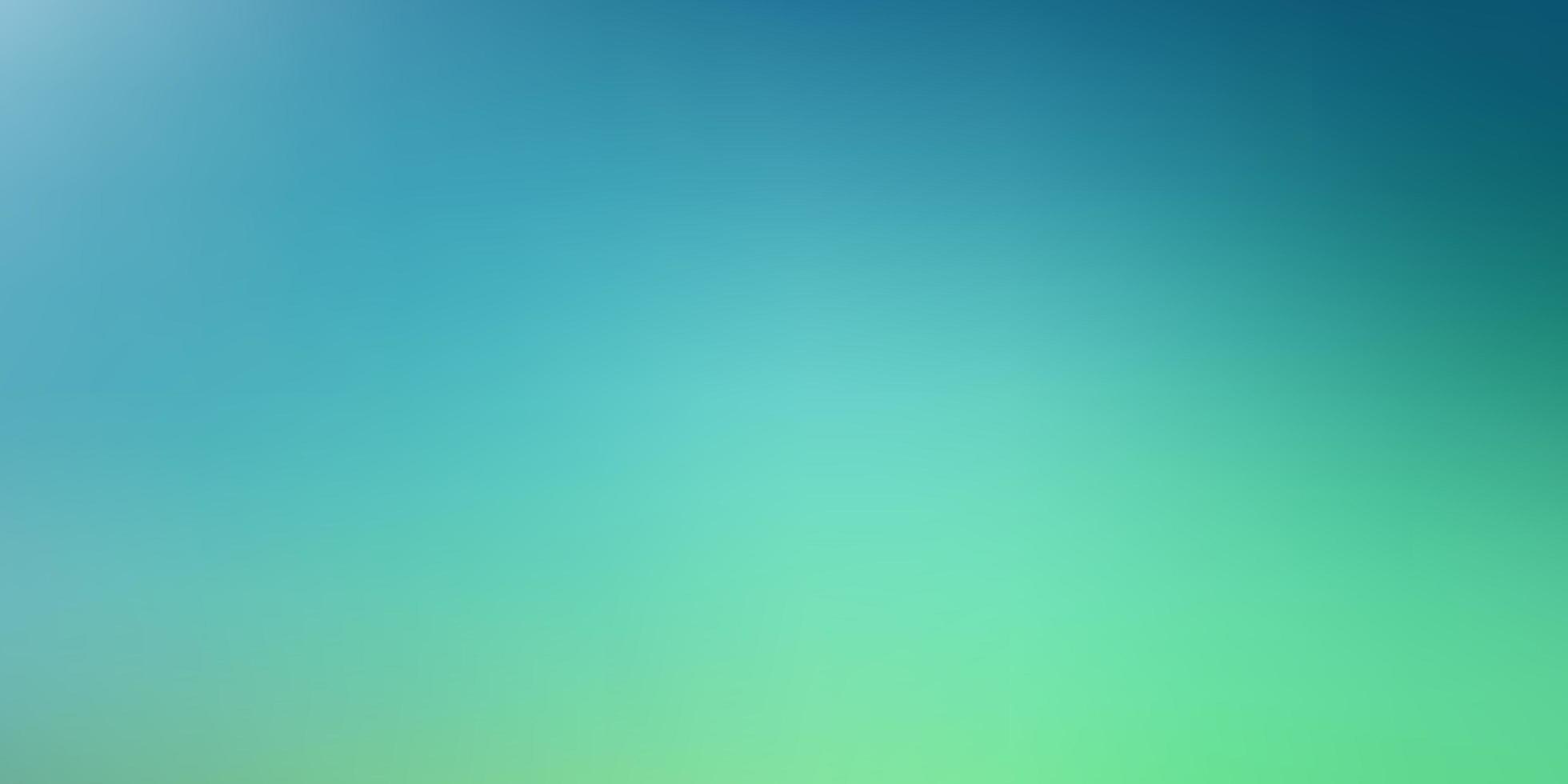 modello sfocato intelligente verde chiaro. vettore