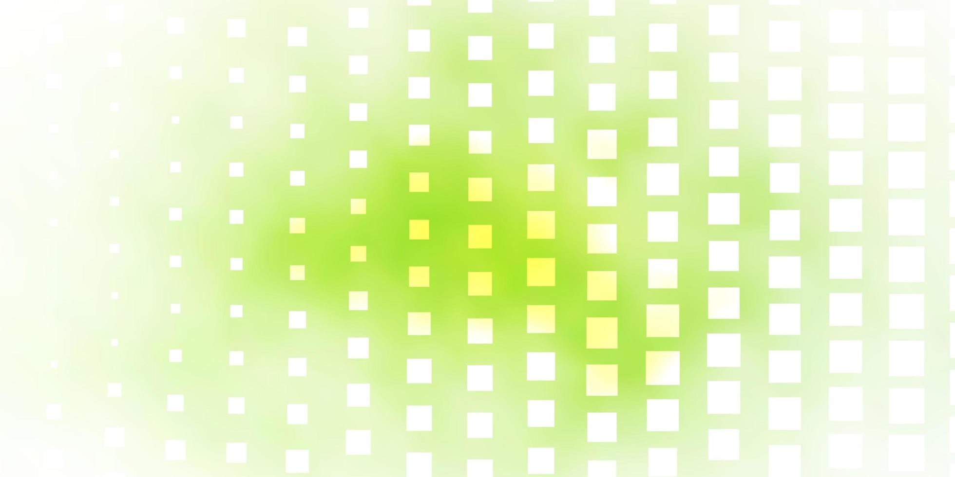 modello verde chiaro con rettangoli. vettore