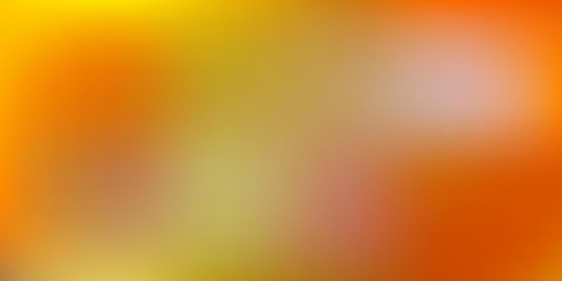 sfondo sfocato sfumato giallo scuro. vettore