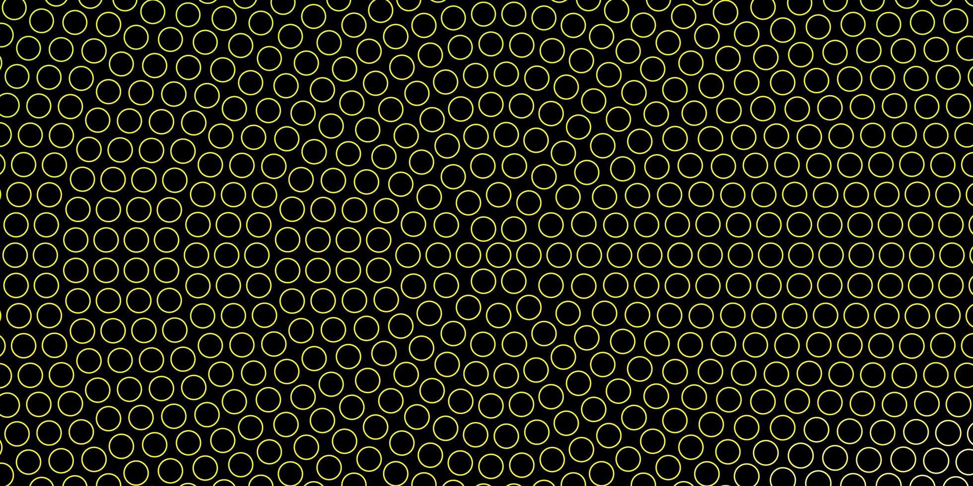 sfondo verde scuro con cerchi. vettore