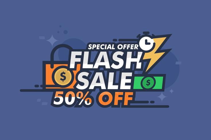 Prezzo Flash illustrazione vettore