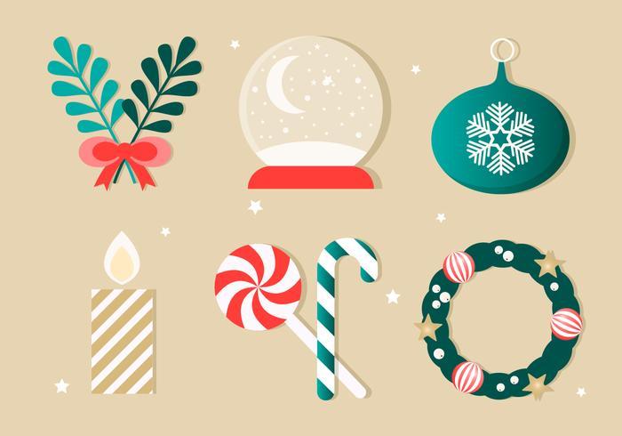 Elementi vettoriali gratis di Natale