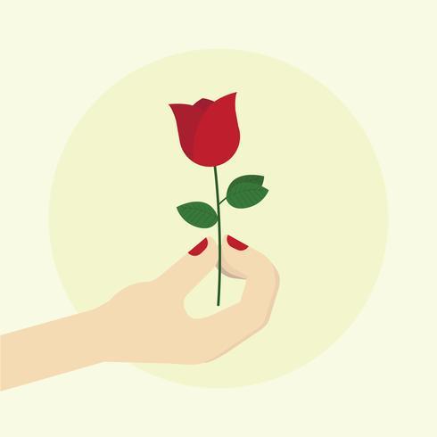 Semplice vettore di atto di gentilezza