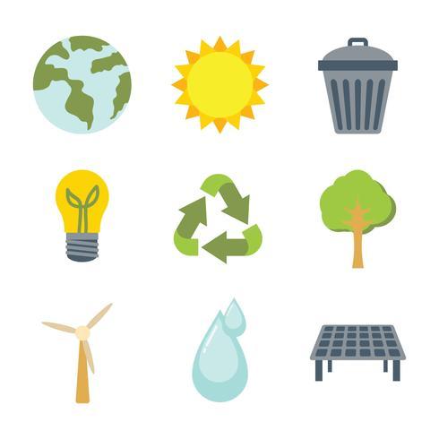 Vai icona verde vettoriale